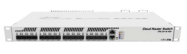 MIKROTIK • CRS317-1G-16S+RM • 16xSFP+ Cloud Router Switch