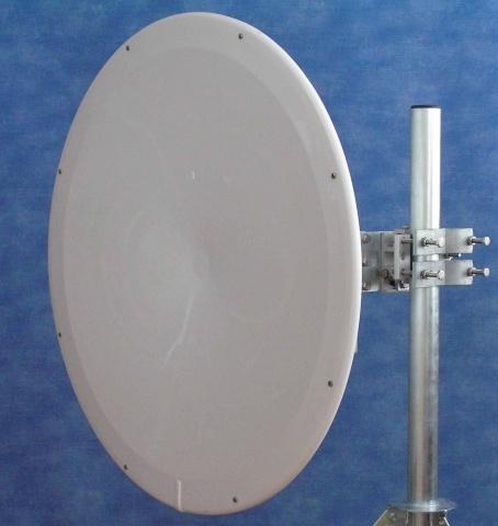 JIROUS • JRMB-900-10/11 Orc • 10GHz parabolic dish antenna