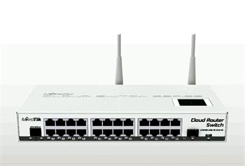 MIKROTIK • CRS125-24G-1S-2HnD-IN • Cloud Router Switch