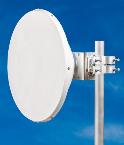 JIROUS • JRMC-680-10/11 Al • Parabolic dish antenna with precision holder for Alcoma Units