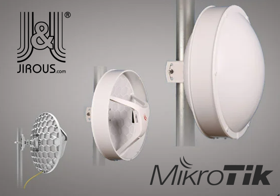 WiFiHW • KitLHGRad • Wireless Wire Dish + Radome covering for RBLHG